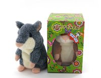 Wholesale Plush Recorder - Hot Sale!Super Likable Hamster Copy Voice Pet Recorder Talking Hamster Plush Toy,funny lovely Taking Hamster toys Baby Toy Gift