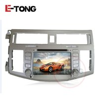 Wholesale Car Navigation Touch Screen Sale - Hot Sale Car DVD Player Android 6.0 Quad Cores 16G Car Radio Touch Screen Bluetooth Support 3G Wifi GPS Navigation for Toyota Avalon 2010 20