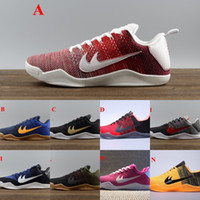 Wholesale Sports Shoes Men Cheap Prices - Wholesale Kobe 11 Basketball Shoes Men New Kobe 11 Low Sneakers Good Quality Original Discount Sports Shoes Free Drop Shipping cheap price