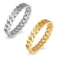 New Men Women Charm Bangle Alloy Cuban Link Chain Bracelet Wristband Masquerade Party Costume Jóias Unisex Braceletes Pulseiras