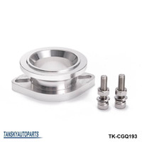 Wholesale Tansky Blow Off Valve - Tansky -New Bov Adaptor Flange Aluminum Compressor Discharge Flange 50mm Blow off Valve Flange adapter TK-CGQ193