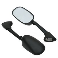Wholesale Yzf R1 Black - Motorcycle Rear View Mirrors for YAMAHA YZF-R1 2007-2008 YZF R6 2006-2007 Black Side