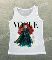 Verfolgen Sie Ship + Vintage Retro Cool Weste Tank Tops Top Vogue Brave Mädchen Cury Red Hair Princess Girl 1465
