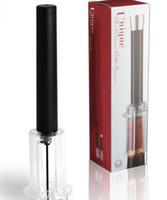 kırmızı şarap şişesi açacağı toptan satış-Yeni Varış En Kaliteli Kırmızı Şarap Açacağı Hava Basıncı Paslanmaz Çelik Pin Tipi Şişe Tirbuşon Cork Out Aracı LLFA Pompalar