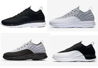 Wholesale Prime Cuts - High Quality Retro 12 Trainer Prime Men Basketball Shoes 12s Trainer Prime Black White Gray Fashion Sneakers With Shoes Box