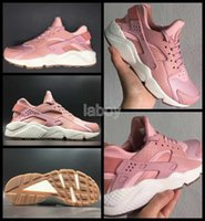 c1f1ac83605 Wholesale pink huaraches online - 2017 Air Huarache I Running Shoes For Women  Pink AAA Quality