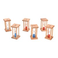 Wholesale Toy Hourglass Sand Timer - Wholesale- 1 pc hourglass 1minutes 3minutes   5minutes Colorful Hourglass Sandglass Sand Clock Timers desktop clock Math Toys for kids