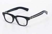 tee-gläser großhandel-Marke SEE YOU IN TEA Brillen Oculos De Grau Rahmen Männer Brillen Frauen Handcrafted Rahmen Japan Optical Frame 53mm