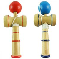 Wholesale Japanese Traditional Game - Wholesale-Multi-Function Kid Kendama Coordinate Ball Japanese Traditional Wood Game Balance Skill Toy Educational Toy
