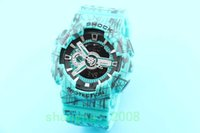 Wholesale G Shock Style Watches - new style sports Men Watches ga110 G Display army military shocking watches ga110 men Casual LED Fashion Watches with round box
