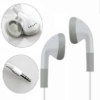 Jetable Simple Blanc Écouteurs Casque Casque pour iPhone 6 6 s 6 plus plus 5 5s 4 4s 3G 3Gs iPod MP3 MP4for cadeau pour Concert pour iphone