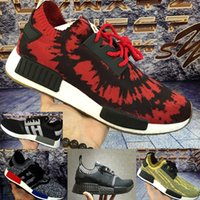 Wholesale Spiders Lights - Special !! ONLY SOME Original R1 NMD RUNNER PK Primeknit Mission Nice kicks Boost Spider-Man Sneaker Men's & Women's Lover's Running Shoes