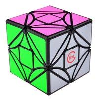 Wholesale Toy Funs - 2016 Magic Cube 3 on 3 Fangshi Funs Limcube 6.5cm 3x3 Dreidel Simple Version Magic Puzzle Bricks Block Cubes Educational Toy