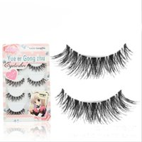 Wholesale Cheap Fake Eyelashes - 5Pair Crisscross Cheap False Eyelashes Eyelash Extensions Fake Lashes Voluminous Natural Long Thick Fake Eyelashes For Eye Lashes Makeup