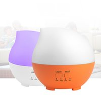 300ML USB Humidifier Aroma Diffuser Absorvedor de óleo essencial Atomizer Aromatherapy Water Mist Maker com LED colorido Night Light Office