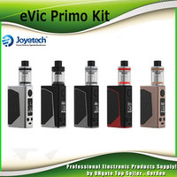 Wholesale Joyetech Evic E - Authentic Joyetech eVic Primo 200W TC Starter Kit with UNIMAX 25 Atomizer Tank E-liquid Filling with BFXL Kth-0.5ohm DL 100% Genuine 2220070