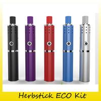 Wholesale Genuine Capacity - Original Herbstick ECO Kit Vape Dry Herb Vaporizer Pen 18650 2200mAh Battery Capacity Huge Vape Mod 100% Genuine 2248002