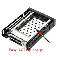 "Wholesale Hot Swap Hard Drive - Wholesale- Hot Swap Dual Bay 2.5"" SATA III Hard Drive Enclosure hdd caddy tray internal Rack case hd hard disk Box For desktop laptop"