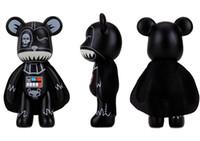 Wholesale Momo Star - New Violence Bear doll toy Momo BEARBRICK Gloomy Bear POPOBE Star War Darth Vader Vinyl Toys 5 inch for cartoon toys