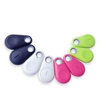 Wholesale Smart Vehicles Key - New Smart Finder Bluetooth Tracker Pet Children GPS Locator Tag Alarm Wallet Key vehicle tracking system phone track bluetooth