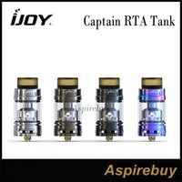 Wholesale Building Slides - IJOY Captain RTA Tank 3.8ML Sliding Top Fill Replaceable Silicon Filling Part Cloud Chaser and the Best Flavor Easy to Build 100% Original