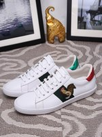 Wholesale Rubber Cock For Men - New Designed High Quality Leather Sneakers For Men Women G Shoes Cock Embroidery Casual Shoes