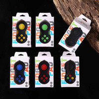Wholesale second hand boxes for sale - Group buy Second Generation Fidget Pad Game Controller Joysticks Magic Cube Fidget Spinner Hand Shank Anti anxiety Decompression Toys With Retail Box