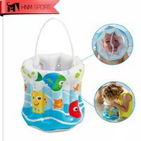 Grossiste- Fun Pool flottant gonflable plage de sable Collection Bucket enfants enfants sous-marine Exploration Scope piscine jouets cadeaux
