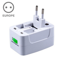 Grossiste Universal World Charger Plug Convertisseur All-in-one Travel AC Adapter à US / UK / AU / EU Drop shipping