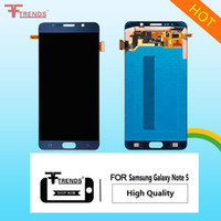Wholesale Buy Touch Screens - High Quality Original OEM Screen Replacement For Samsung Galaxy Note 5 LCD Display Screen Touch Digitizer Full Assembly&Buy 5 Get 1 Tools