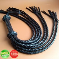 Wholesale Leather Whips For Sale - Sex Tools For Sale PU leather Sex Whip Bdsm Bondage Restraint Adult Sex Games Tools Products For Men And Women.