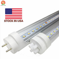 Stock In US + bi pin 4ft led t8 tubes Light 18W 20W 22W Led Fluorescent Lamp Replace regular Tube AC 110-240V UL FCC