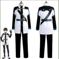 Wholesale Xxl Online Movies - Sword Art Online the Movie Ordinal Scale OS Kirito Kirigaya Kazuto Cosplay Costume Uniform