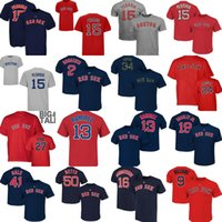 Wholesale Kids Shirts Sale - Adult Ladies Kids Red sox Betts Chris Sale Dustin Pedroia Xander Bogaerts David Ortiz Manny Ramirez Carlton Fisk Hanley Ramirez T-shirts