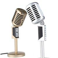 Wholesale Chat Mic - 3.5mm Jack Stereo Recording Microphone Mic For Computer Laptop Voice Chat Microphones Desktop For Sing Chatting Karaoke