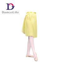 Wholesale Chiffon Long Ballet Skirt - Free shipping A2327 long ballet chiffon skirt ballet dance wrap skirt dance short skirts