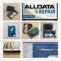 2017 alldata e mitchell 2015 V10.53 software de reparo alldata instalado no Panasonic Toughbook CF19 CF-19 Laptop pronto a usar