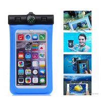 Wholesale Multi Case Iphone 4s - Universal Multi-function Waterproof Pouch Case For iPhone 4S 5 6 Plus Samsung S6 Edge Note 4 Underwater Bag Cover DHL