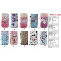 Wholesale Iphone Leather Case Stylus - For iphone 7 7 plus i7 3D Leather PU Fashion Friend Dream catcher For ZTE Z981 for LG LS775 Stylus 2 Stylus 3