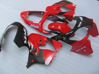 Wholesale Zx9r Body Kit - New ABS Fairings kits fit for kawasaki 00 01 ZX 9R Ninja ZX9R 2000 2001 motorcycle bike ABS aftermarket body fairing set nice red black gray