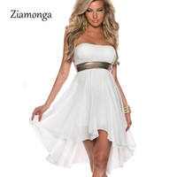 Wholesale sexy clubwear xxl - Wholesale- S M L XL XXL Plus Size Dress Sexy Women's Lace Chiffon Dress Fashion Lace Overlay Top Sleeveless Chiffon Dress Clubwear C1031