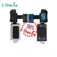 Wholesale Earphones S4 - For Samsung Galaxy S4 Earphone Jack Flex Cable Ribbon For Mobile Phone Refurbish with free shipping