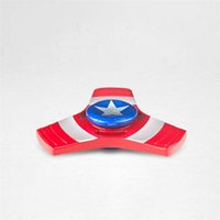 Fidget Spinners Iron Man Spider Man EDC Triangle Avengers Hand Spinner Tri Captain America Handspinner Взрослые игрушки для ADHD Free DHL BEY058