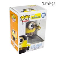 Wholesale Toy Funs - 20151021 Kids Toys Cute Minions Model Toys FUNKO POP 20151021 Movie Minions Action Figure Eye Matie Vinyl Model Funs Collection Nice Gift
