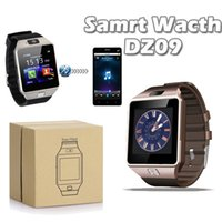 Wholesale Bracelet Watches Cell Phone - DZ09 Smart watch Bluetooth A1 U8 GT08 Smartwatch Wrisbrand With SIM Card For iPhone Samsung IOS Android Cell phone Smart Bracelet