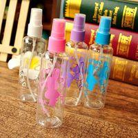 Wholesale cosmetic pressure pump bottle resale online - Pc ML Perfume Bottle Refillable Shampoo Lotion Liquid Toner Emulsion Cosmetic Plastic Pressure Mouth Point Spray Pump Bottle