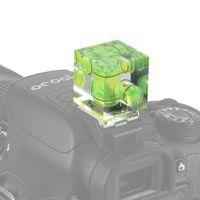 Wholesale level camera for sale - Universal Axis Hot Shoe Fixed Bubble Spirit Level D Spirit Level For Canon Nikon Pentax DSLR Camera