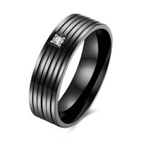 Wholesale Stainless Steel Blue Rings - Cool Men Masonic Rings Stainless Steel Wedding Rings for Men Jewelry With Blue & Black Carbon Fiber Rings Jewelry