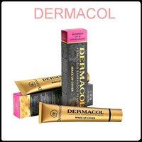 Wholesale Tatoo Sale - Dermacol Base Make up Dermacol Makeup Cover Extreme Covering Foundation Hypoallergenic 30g Dermacol Tatoo Brandd Skin Concealer Hot Sale