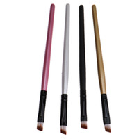 Wholesale cosmetics new arrival online - New arrival fashion design hot selling Eyebrow Cosmetic Makeup Brush For Women